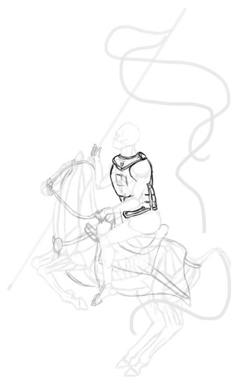 how to draw polish winged hussar cuiryss breastplate 2