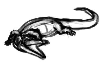 how to draw crocodile step by step