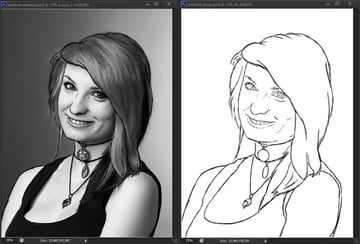 how to practice grayscale painting value photoshop reference 4