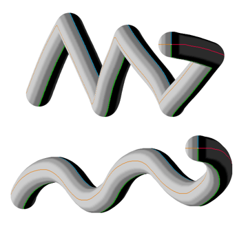 perspective photoshop 3d neck dragon tail snake 3