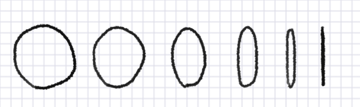 how to draw perspective coil ellipse circle
