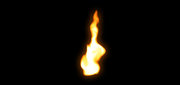 How to paint flame photoshop digital 11