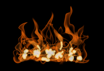 How to paint fire photoshop digital 15