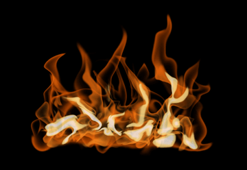 How to paint fire photoshop digital 16