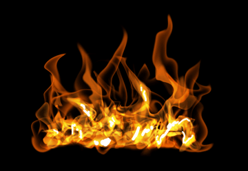 How to paint fire photoshop digital 19