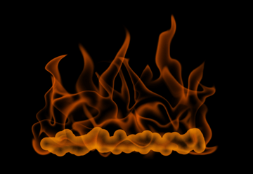 How to paint fire photoshop digital 10