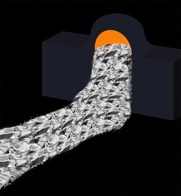 How to paint lava flow river lake photoshop digital 7