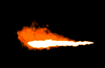 How to paint flamethrower fire dragon photoshop digital 9