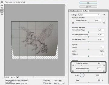 how to clean scan photos contrast sketch pencil traditional photoshop 3