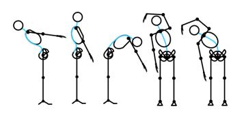 how to draw stick figure stickman tutorial torso 10
