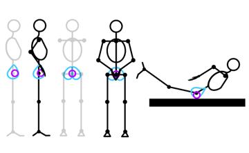 how to draw stick figure stickman tutorial torso 6
