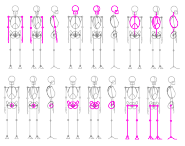 how to draw stick figure stickman tutorial perspective