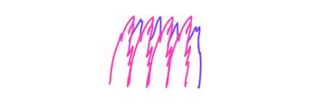 how to draw zebra mane tail 8