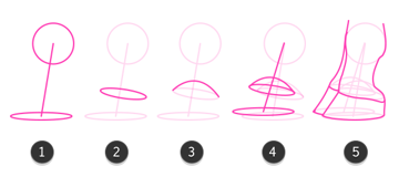 how to draw giraffe hooves