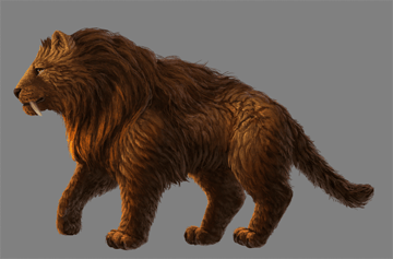 digital painting fur subsurface scattering saturation more