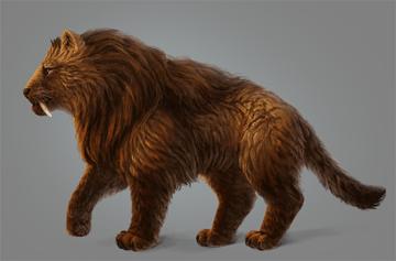 digital painting fur contrast fix