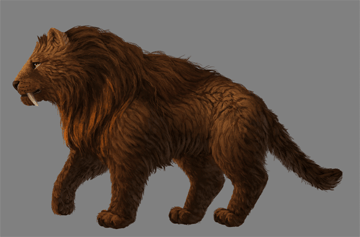 digital painting fur special effects result