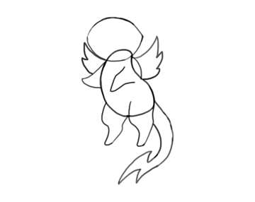design draw mascot sketch pose done
