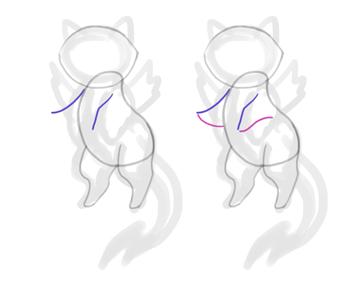 design draw mascot arms cute cat