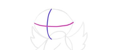design draw mascot head perspective