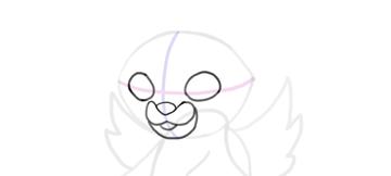 design draw mascot eyeball
