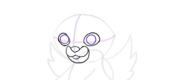 design draw mascot pupils
