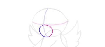 design draw mascot snout