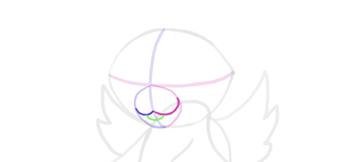 design draw mascot mouth