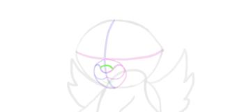 design draw mascot nose