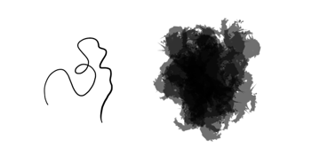 drawing painting brush difference