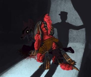 digital painting photoshop glowing eyes blood shadow