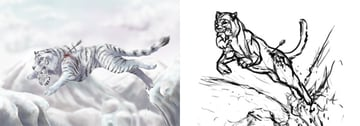 what is better drawing or painting comparison
