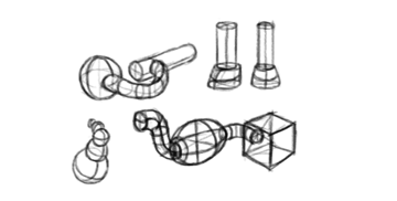 how to draw constructions perspective