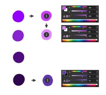 digital painting create color scheme light colors