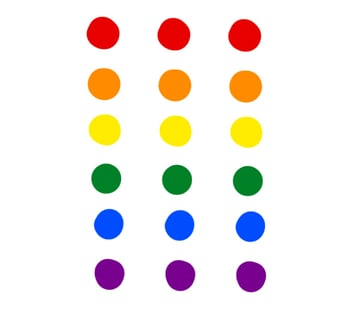 digital painting create color scheme rainbow scheme