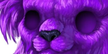 digital painting creature eyes deep