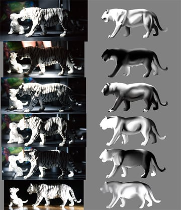 study before painting lighting reference