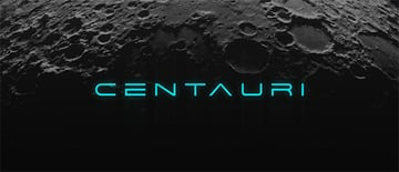 space text font