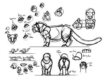 how to create style reference sheet sketches