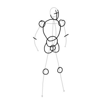 draw vector deadpool photoshop simple silhouette