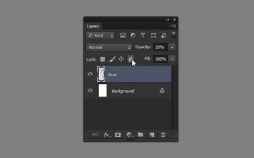 draw vector deadpool photoshop lock layer