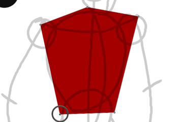 draw vector deadpool photoshop pen tool drawing 3