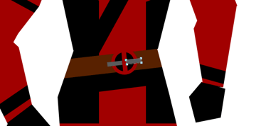 draw vector deadpool photoshop metal clasps