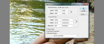 change size in photoshop