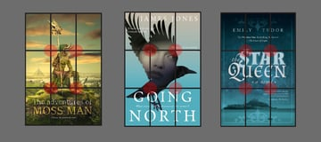rule of thirds in book covers