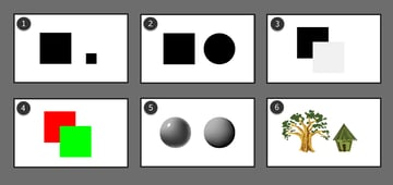 types of contrast in drawing