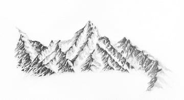 how to draw snow with eraser