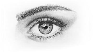 how to draw beautiful eyelashes