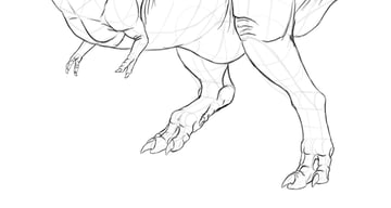 how to draw dragon claws