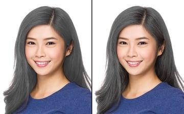 how to bleach hair in photoshop